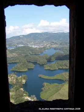 colombia peñol represa 3