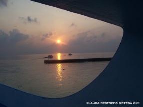 maldives laviani atoll sunrise