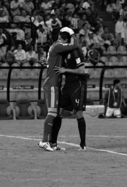 López and Araujo celebrate (MEX-DPR)