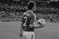 Mexico's Álvarez about to throw in (ARG-MEX)