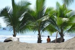 niño en playa de Termales
