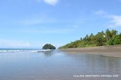 playa y la roca de Terco