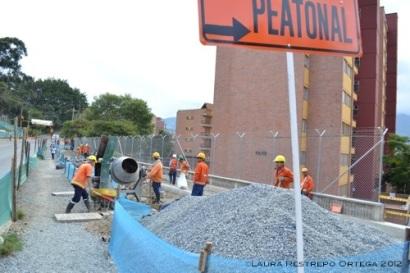 construcción metro plus