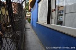 entrada al barrio