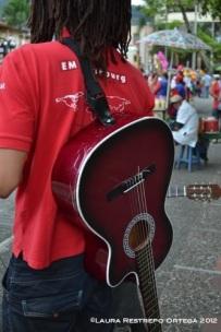 la guitarra de Chris