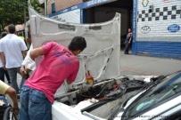 arreglando el motor
