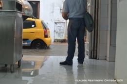 inundación en el centro de Cartagena 1