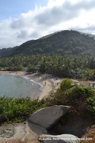 bahía en tayrona