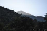montaña al amanecer