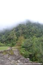 niebla sobre Teyuna