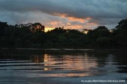 atardecer en Sacambú
