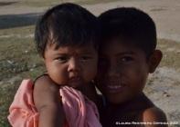 niños Wayyu en Loma Fresca