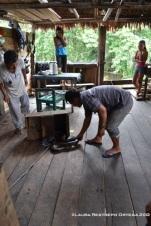sacando la anaconda