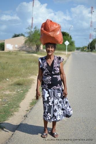 Señora María Barros, de Camarones, Guajira