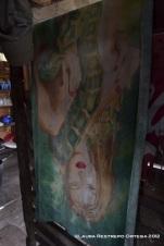 toalla de mujer con anaconda