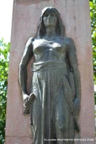 escultura st fe de antioquia