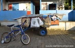 carro, bicicleta