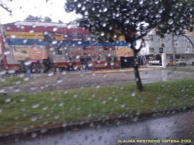 lluvia por la ventana