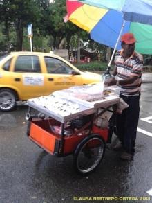 vendedor de coco