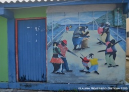 sapzurro 17 mural pinguinos