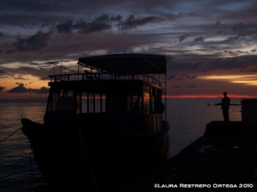 38 sunset boat