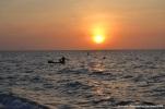 baru - playa blanca - atardecer pescador 9