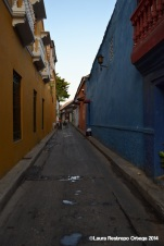 cartagena - calle getsemani