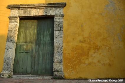 cartagena - pared amarilla