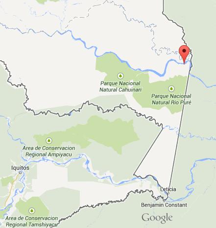 Amazonas map 1