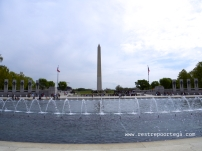 Washington DC WWII memorial