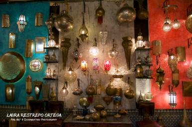 MRC14-Fes medina lamps