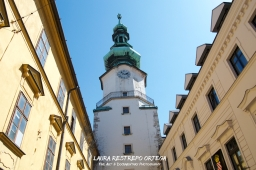 SLV1-Bratislava clock tower